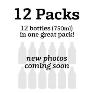 12 Packs - 750ml Bottles
